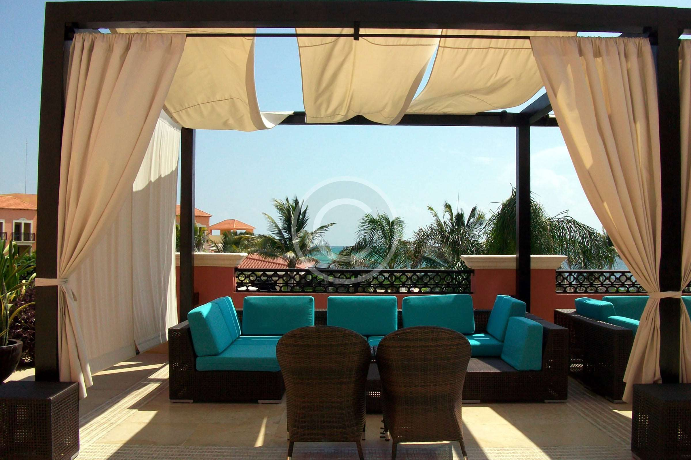 How to Layer Up With Voile Curtains